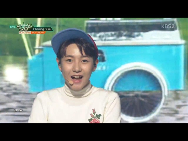 NCT DREAM 엔시티 드림 'Chewing Gum' KBS MUSIC BANK 2016 09 23