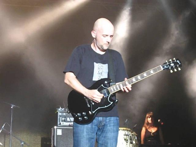 Moby Guitar solo Live @ Nuke Festival Wiesen 17 07 2009