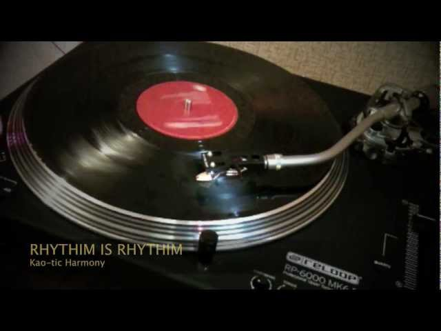 Rhythim Is Rhythim - Kao-tic harmony (vinyl) 1991