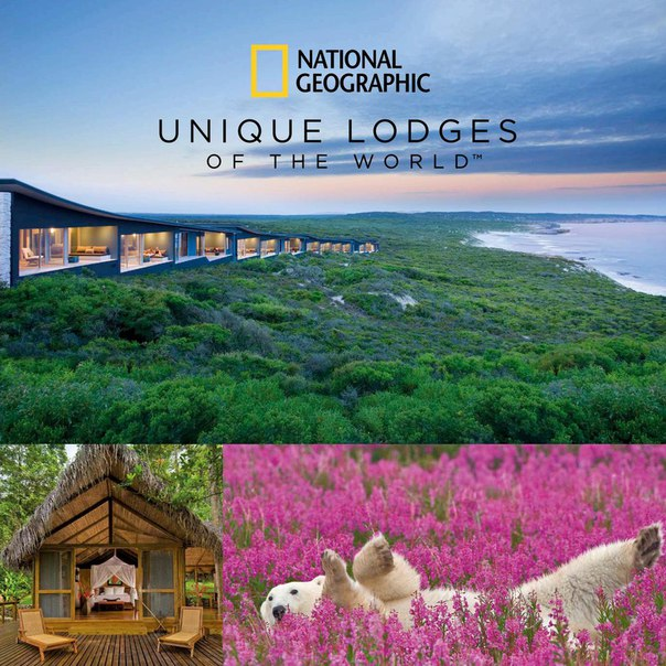 National Geographic Unique Lodges of the World Portfolio