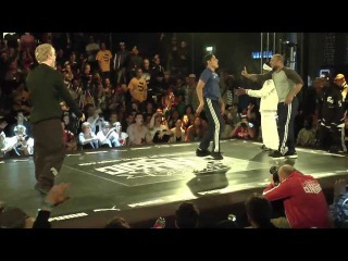 World B-Boy Classic 2012 - Junior & Wilde Willy VS James Puppet & Menno