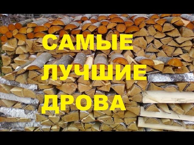 Самые лучшие дрова Жить в деревне