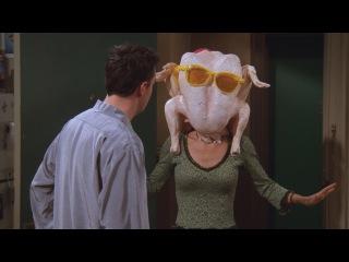 Friends - All the Thanksgivings, Part 3 - Chandler loves Monica