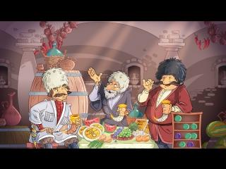 Классическая анимация и ненавязчивая реклама сыра Умалат
