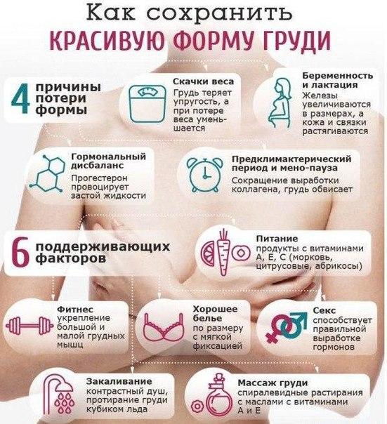 Как похудеть чтобы сохранить грудь