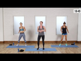 45-Minute Cardio and Toning Workout From Jennifer Lawrences Trainer - Class FitSugar