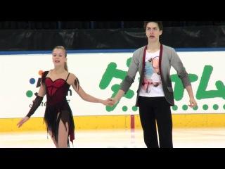 Arina USHAKOVA / Maxim NEKRASOV RUS- Free Dance MINSK 2017