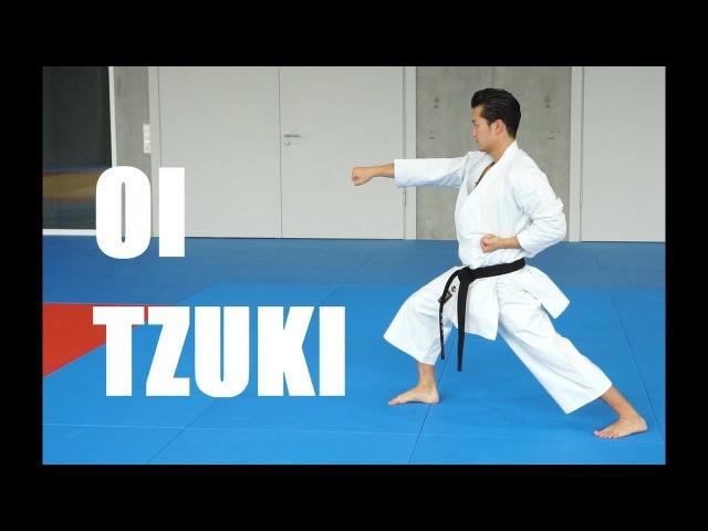 OI ZUKI karate forward punch TEAM KI