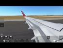 """Посадка """"Boeing•737 – 700"""" аирберл"""