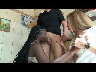 Красивая девушка чернокожая блондинка межрассовое лесбиянки негритянка 18 секс порно ххх xxx
