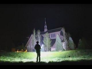 Самый мощный светодиодный фонарик в мире 1000W LED, 90000 Lumens