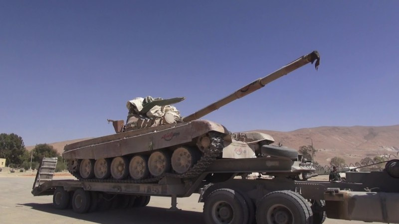 Танки наркотики ракеты всё что обнаружили Тигры генерала Сухейла в горах Каламуна