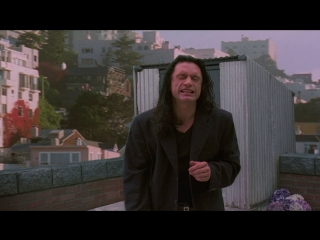 I did not hit her, I did NOT! | Комната | The Room реж. Томми Вайсо