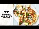 Mushroom, Lamb and Feta Gozleme