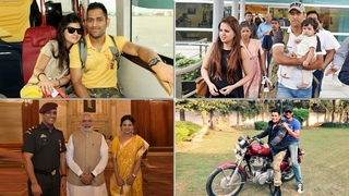 MS Dhoni Life Outside the Ground With His Wife, Daughter and Friends