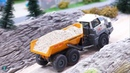 RC Liebherr excavator 970 trucks in 1/87 scale fully functional