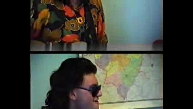 1994-год два друга-два поэта в.смирнов и е.муравьёв с днём рождения поздравляют пророка сан боя.