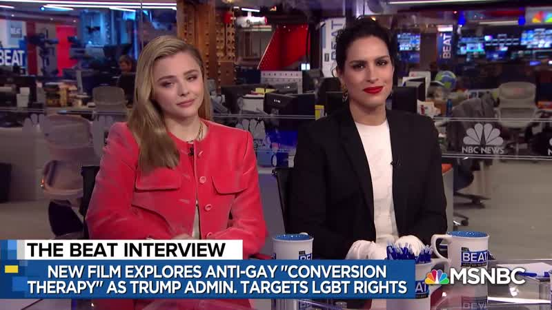 Actress Chloe Grace Moretz On New Film It's A Form Of Activism ¦ The Beat With Ari Melber ¦ MSNBC