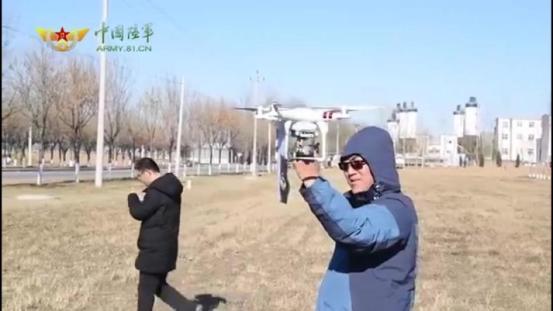 """中国空军 国蓉科技有限公司 要地近距净空防御系统""""实装测试激光远程打击无人机演示"""