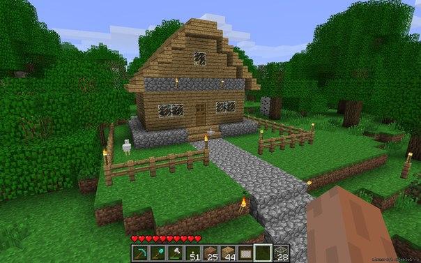какой дом можно сделать в майнкрафте #8