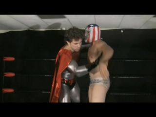 Muscle domination wrestling - super men season 2 episode 1 - supremacist and super heel (morgan cruise and muscle master kevin)