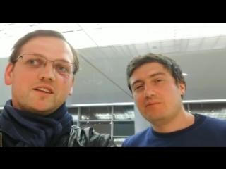 Ян Баранчук и Алексей Володин о результатах своей поездки