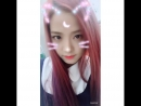 180625 - Jisoo  더운 날, 더운 비? 나는 학교 유니폼으로 사진을 업로드해야한다고 생각했습니다. 실제로, 내 귀걸이는 한면이 검은 색이었고 다른면은 핑크색이었습니다.