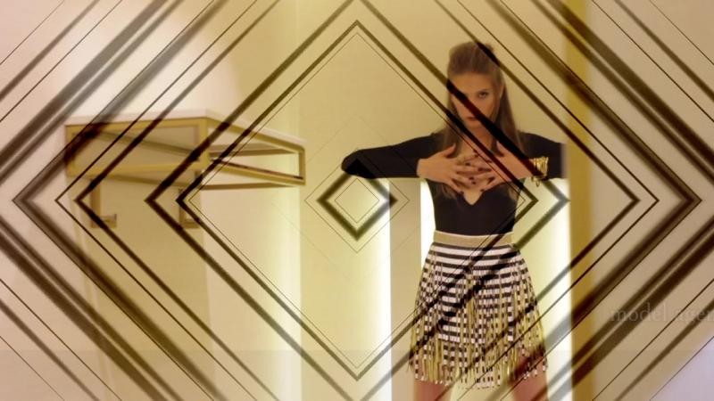 Победительница конкурса Next Top Model 2017г.- Алёна К.,ученица и модель агентства RSN.Ch2-ое image video брендов Qboutique