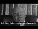 I can't bear feelings between people. - Alfred Hitchcock