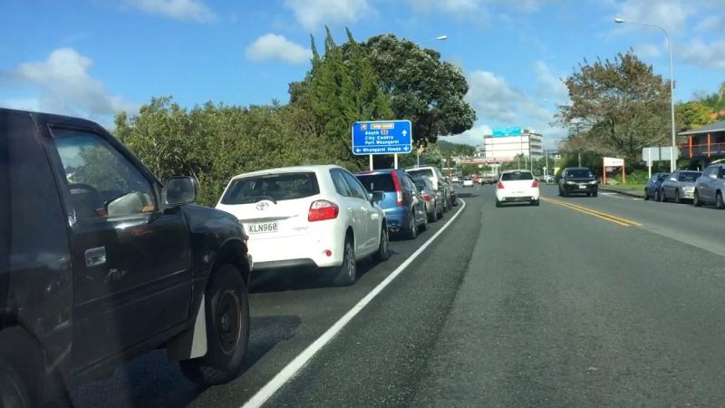 Whangarei New Zealand - On the Road