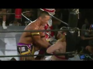 CIMA, Ray, Otokozakari vs. Kaz Hayashi, Hikaru Shida, Ladybeard (Tokyo Gurentai)