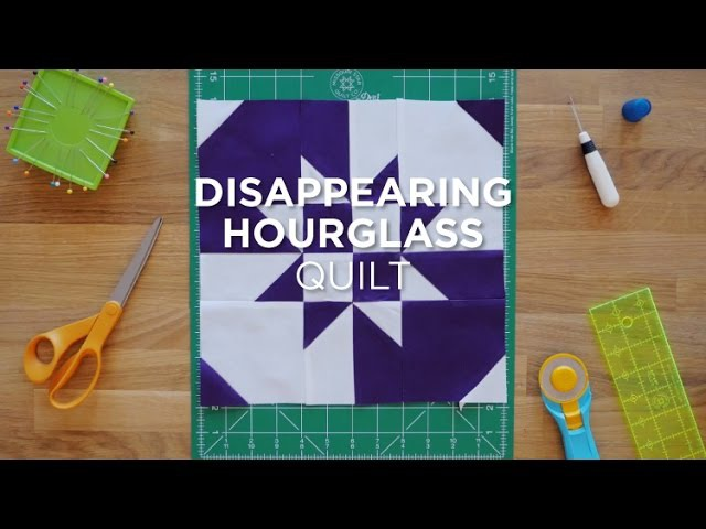 Quilt Snips Mini Tutorial Disappearing Hourglass