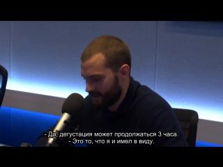 """Джейми Дорнан на радио """"Magic"""""""