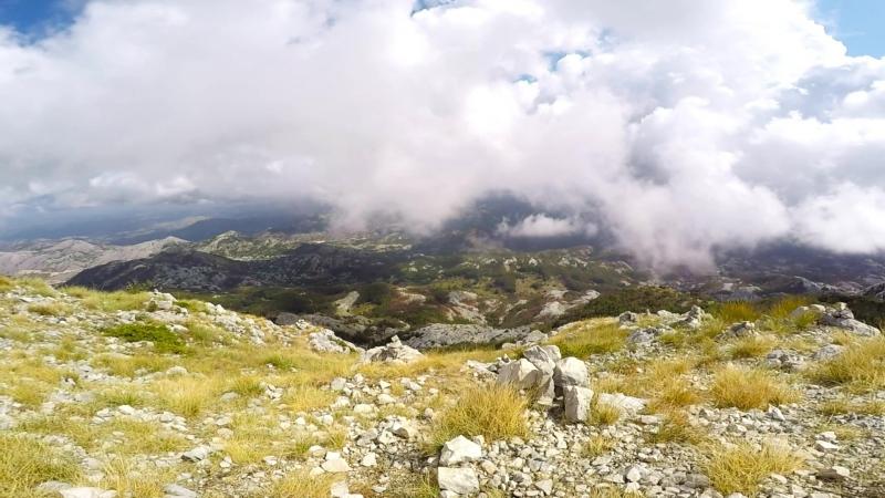 Lovcen national park and njegos mausoleum