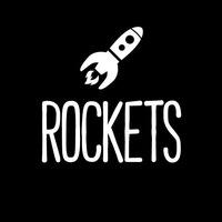 Логотип ROCKETS: магазин комиксов, кофешоп Екатеринбург