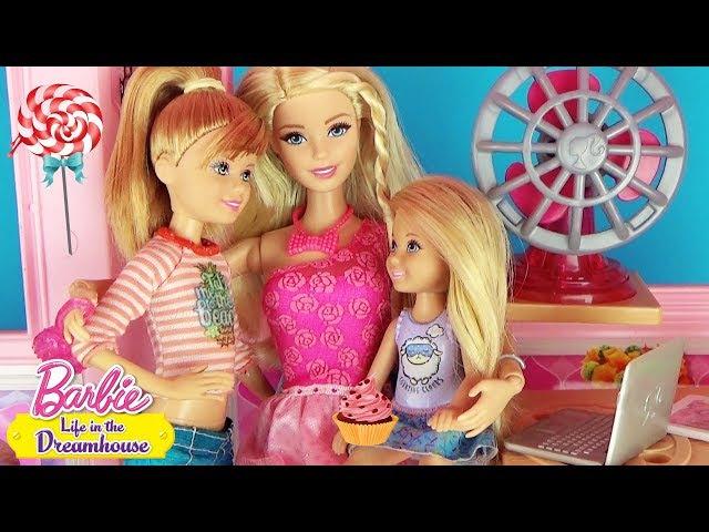 Мультик Барби и сестры в доме мечты Драка с Кеном Доктор с уколом Play doll Barbie Origina