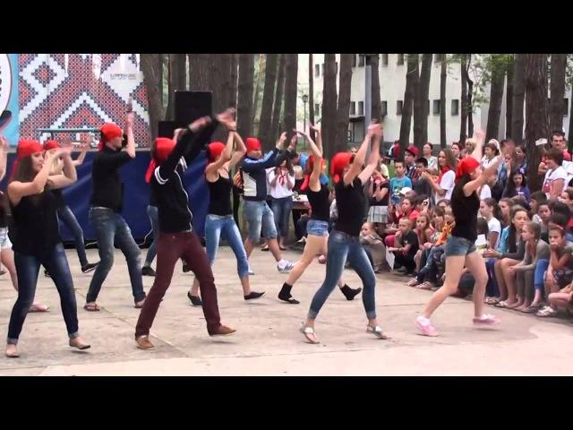 ОДЦ 'Чайка' Сумы танец вожатых 'Пираты'