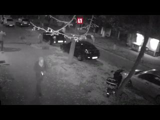 Момент подрыва депутата Мосийчука в Киеве