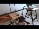 Верстак-тиски со столешницей из фанеры
