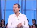 French TV anchor Jean-Luc Delarue interviews the Russian spy Serguei Jirnov