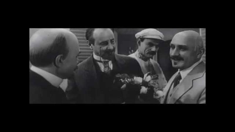 Ленин на Капри в гостях у Горького, вместе с Луначарским и Коцюбинским