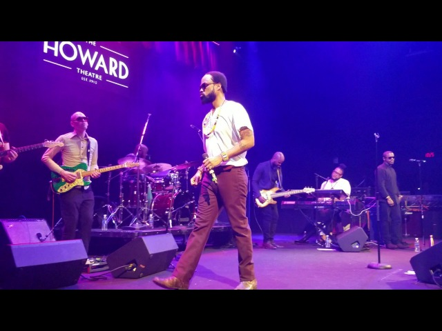 Bilal performs All Matter at DCs legendary Howard Theatre