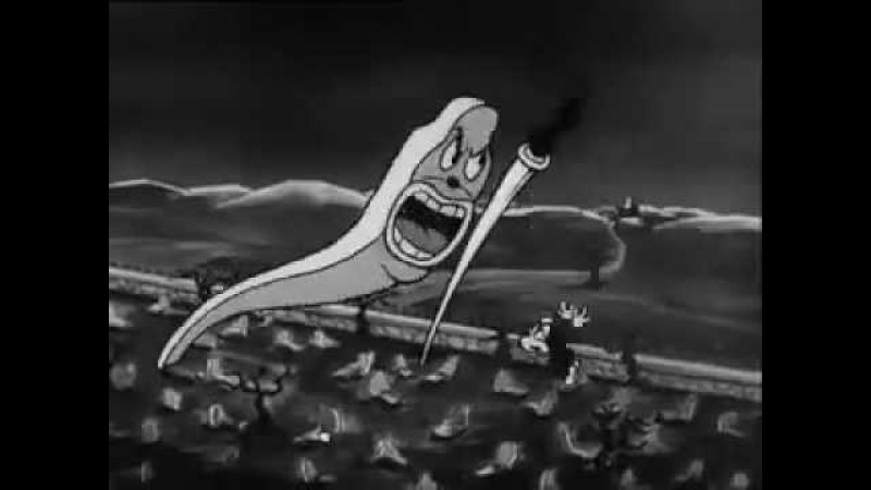 Swing You Sinners 1930 animated cartoon short Fleischer Brothers surreal dark abstract content