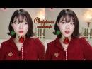 올 로드샵 모두 메리 크리스마스~ 메이크업🎄❤️Chirstmas makeup❤️ feat 사랑이 애 47