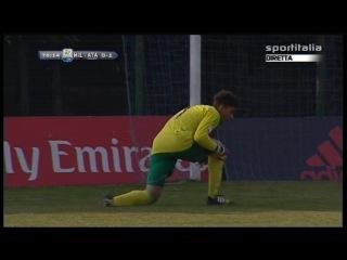 Campionato PRIMAVERA 1: Milan - Atalanta 1-1