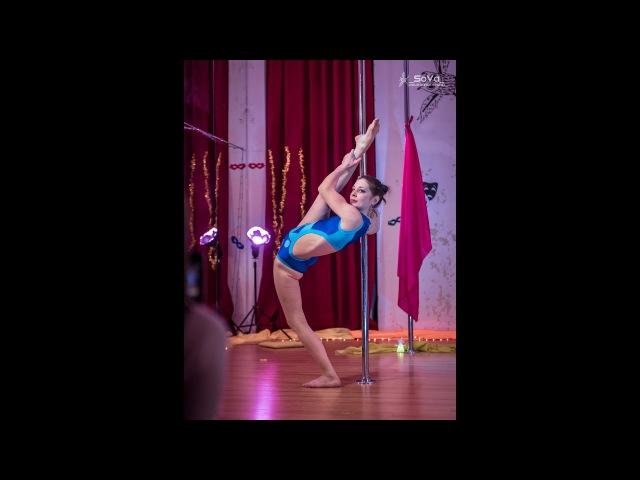 Савина Ирина (Тренер по растяжке. Отчётник 10.12.17. Studio _SoVa_ Pole Dance )