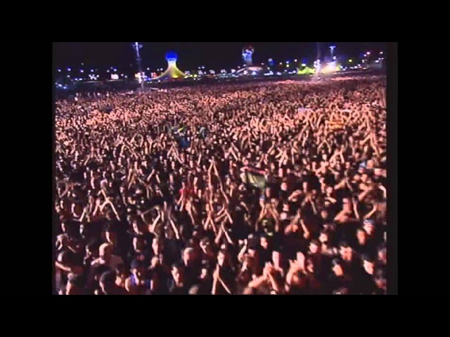 Iron Maiden The clansman The evil That Men Do Rock in Rio 2001