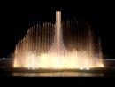 Поющий фонтан ночью Ах эта свадьба Олимпийский парк Сочи