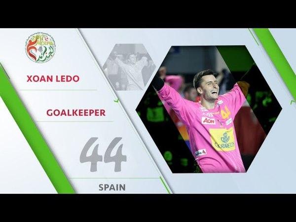 Xoan Ledo (ESP) - All-star goalkeeper   IHFtv - Algeria 2017 Mens Junior WCh