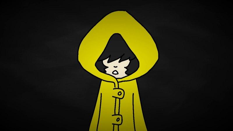 (flash, blood, maybe trypophobia warning) V X CAIN (Little Nightmares animation meme)